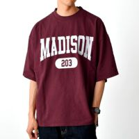 【OUTLET/返品交換不可】ヘビーウェイト カレッジプリントTシャツ(MADISON), , small