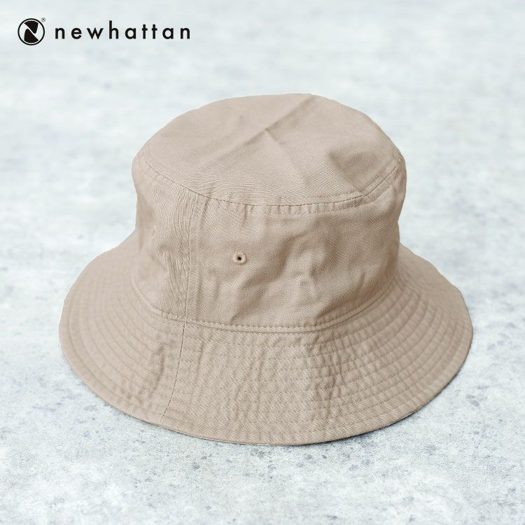 Newhattan(R) ツイルバケットハット, , large